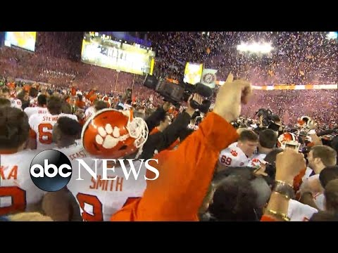 Clemson Tigers Defeat Alabama in College Championship Game