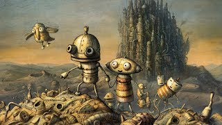 Machinarium – Game Movie (All Cutscenes / Story Walkthrough) 1080p HD