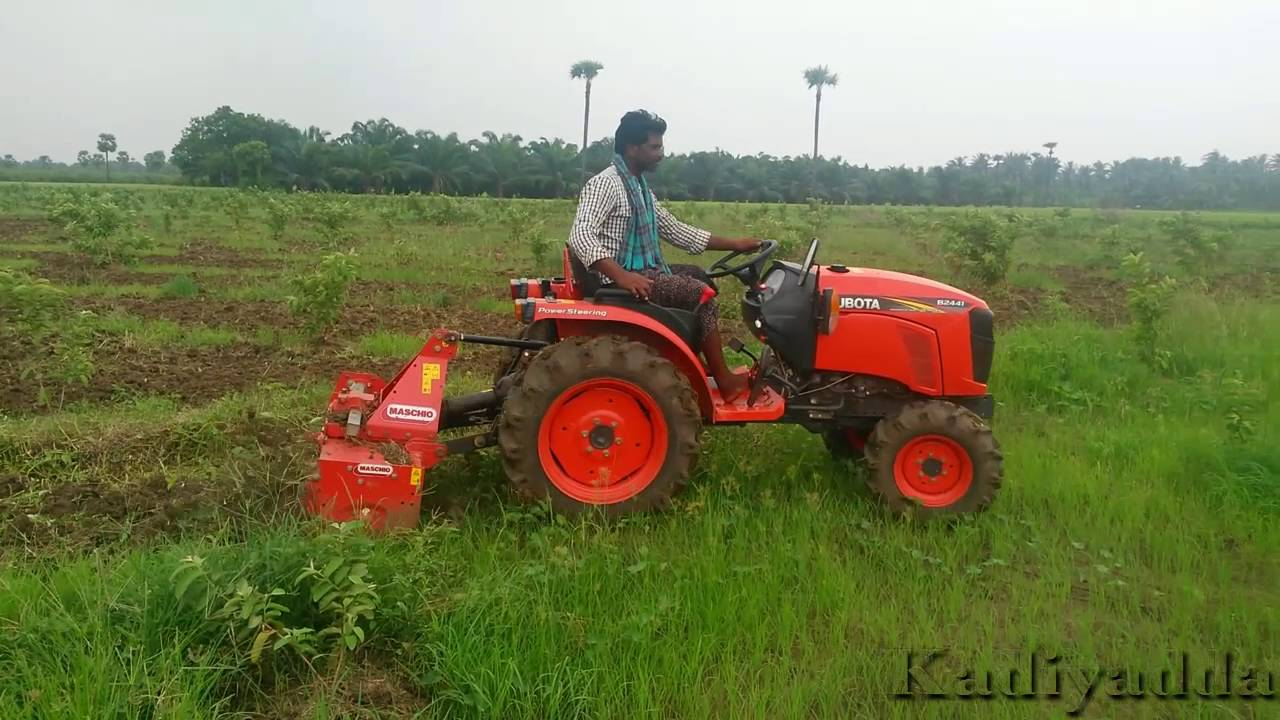 Kubota B2441 Mini Tractor Youtube