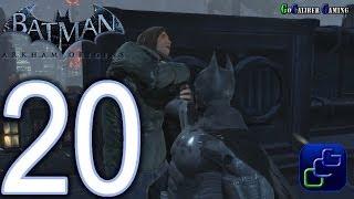 BATMAN: Arkham Origins Walkthrough - Part 20 - Park Row, Bowery: Datapacks Dixon Docks Shooting