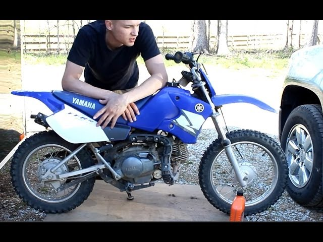 Yamaha TTR90 Oil Change How To TTR change your oil now!!! - YouTube