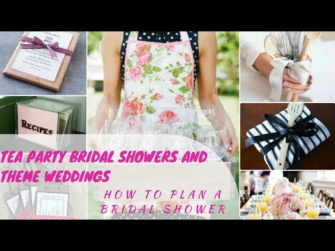 tea party bridal showers and theme weddings how to plan a bridal shower ideas planning