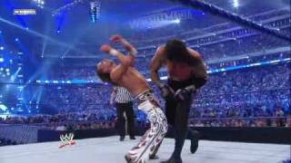 Wrestlemania 25 The Undertaker Vs Shawn Michaels 4/4 HQ