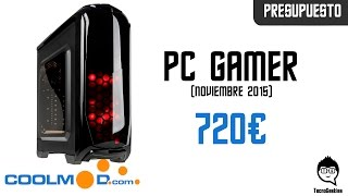 Presupuesto PC Gamer 700€ Gráficos Medios/Altos (FX 8320e & Gtx 960 4GB) 2016