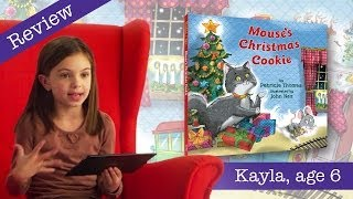 Mouse's Christmas Cookie - Kid Book Review