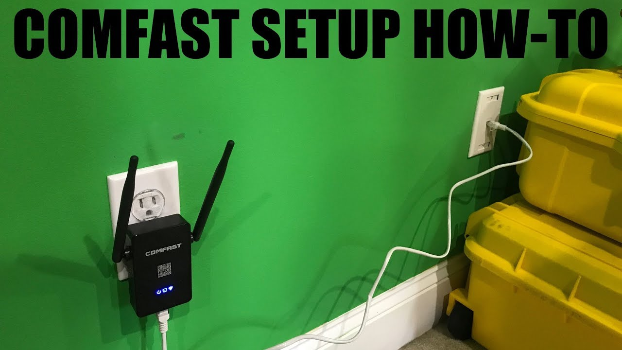 Comfast Setup HOW-TO by IrixGuy's Adventure Channel