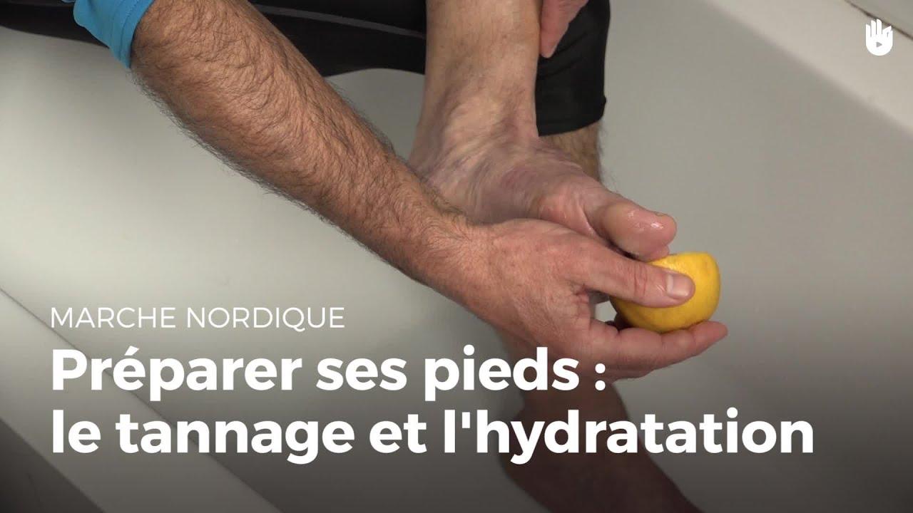 hydratation des pieds