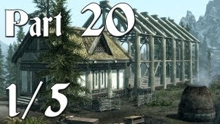Skyrim Walkthrough - Part 20 - Hearthfire Dlc [1/5] (pc Gameplay / Commentary)