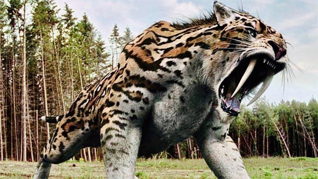 شاهد حيواناات مخيفة حمانا الله من شرها وانقرضت