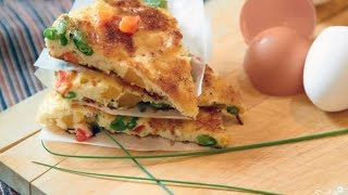 Белковый омлет. Рецепт приготовления /  Protein omelet . Recipe