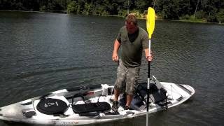 Old Town Predator Stand Up Fishing Kayak: LIVE DEMO!(https://dravesarchery.com | 888-678-0251 We love it when our reps bring us new toys to play with! This new Predator Kayak by Old Town is amazing for ..., 2013-07-24T18:14:53.000Z)