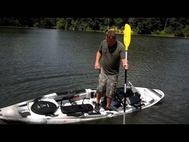 Old Town Predator Stand Up Fishing Kayak: LIVE DEMO!