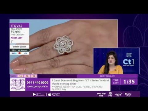 Shop Affordable Jewellery LIVE With Gemporia TV - 13th November