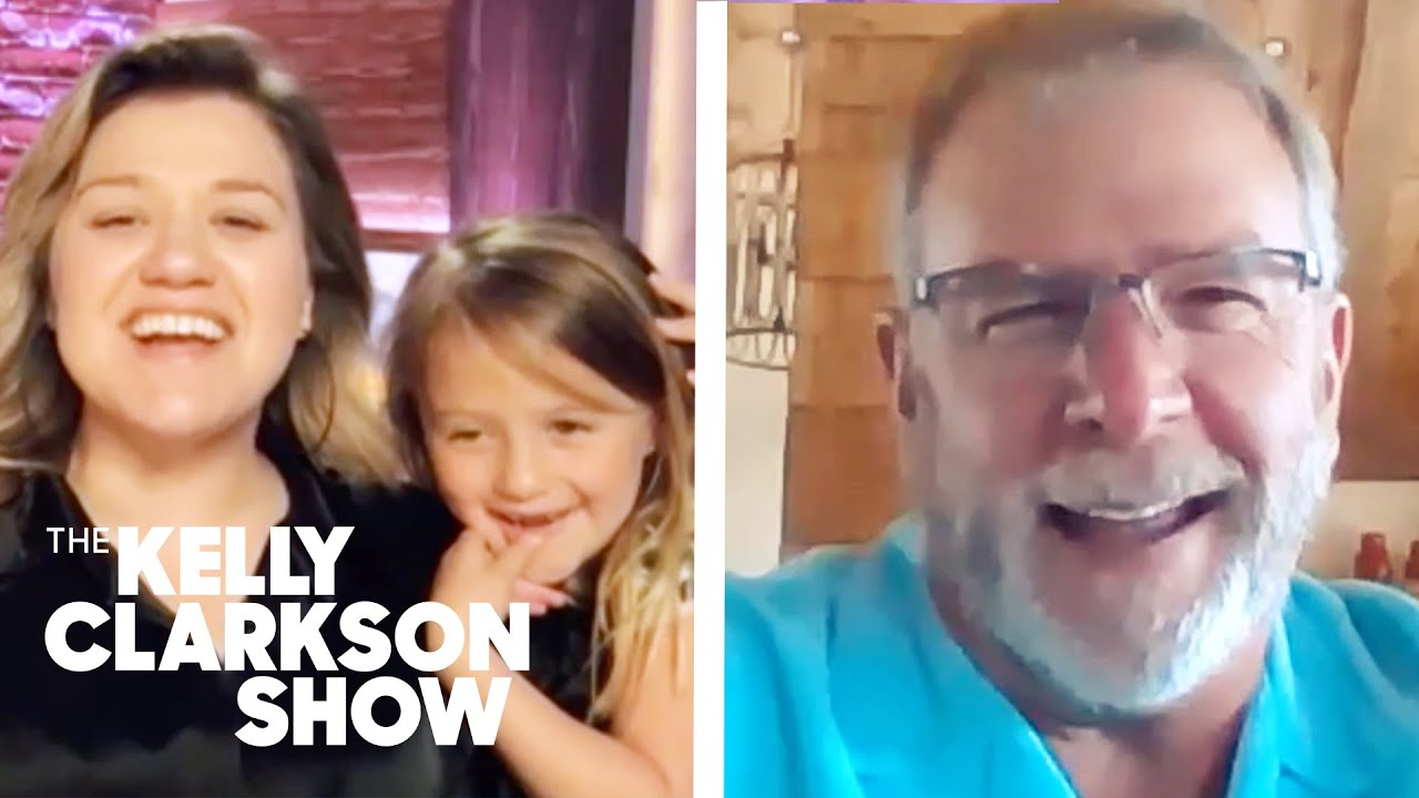 Kelly's Daughter Crashes Interview With Bill Engvall