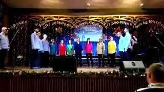 Mocni w wierze a capella - Będzin 2015 eliminacje XXI MFKiP
