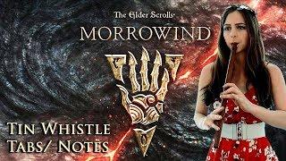 MORROWIND THEME - ELDER SCROLLS III - Tin Whistle Tabs Tutorial