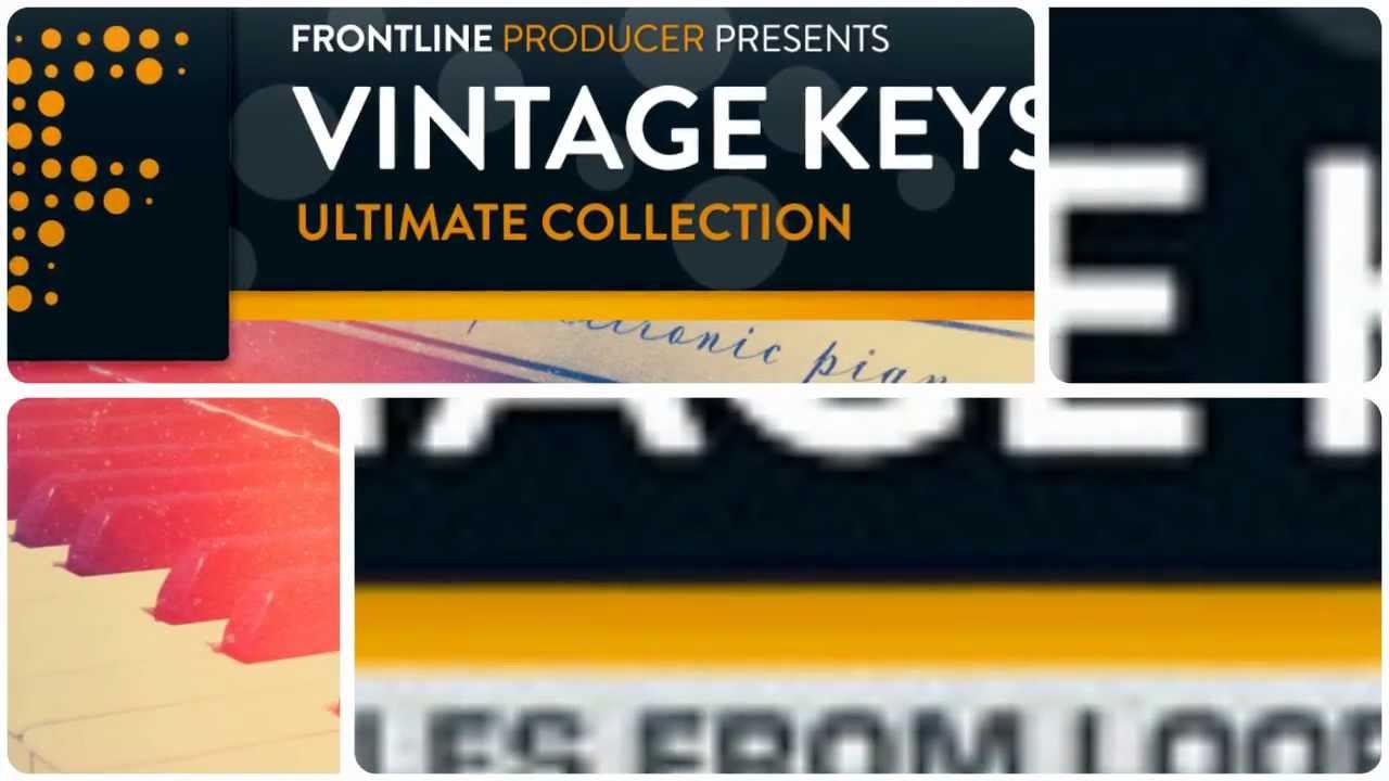 Vintage Keys - Royalty Free Vintage Rhodes, Clav, Hammond ...