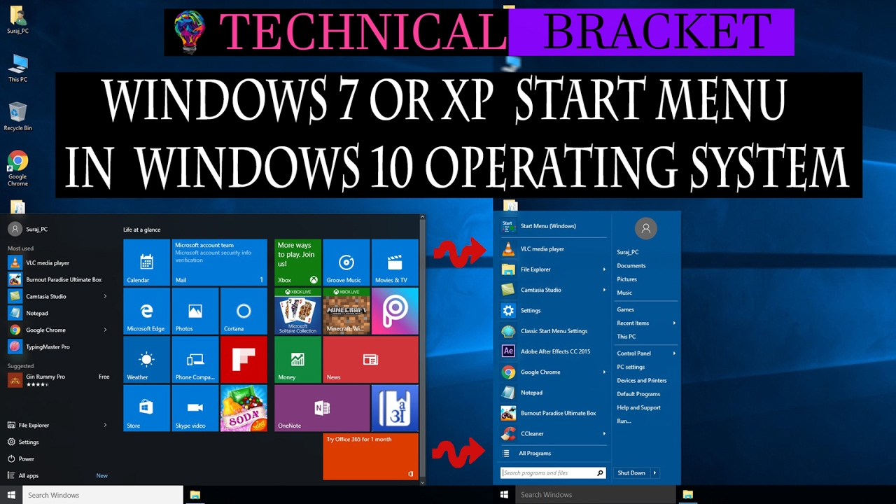 how to transform windows xp to windows 7