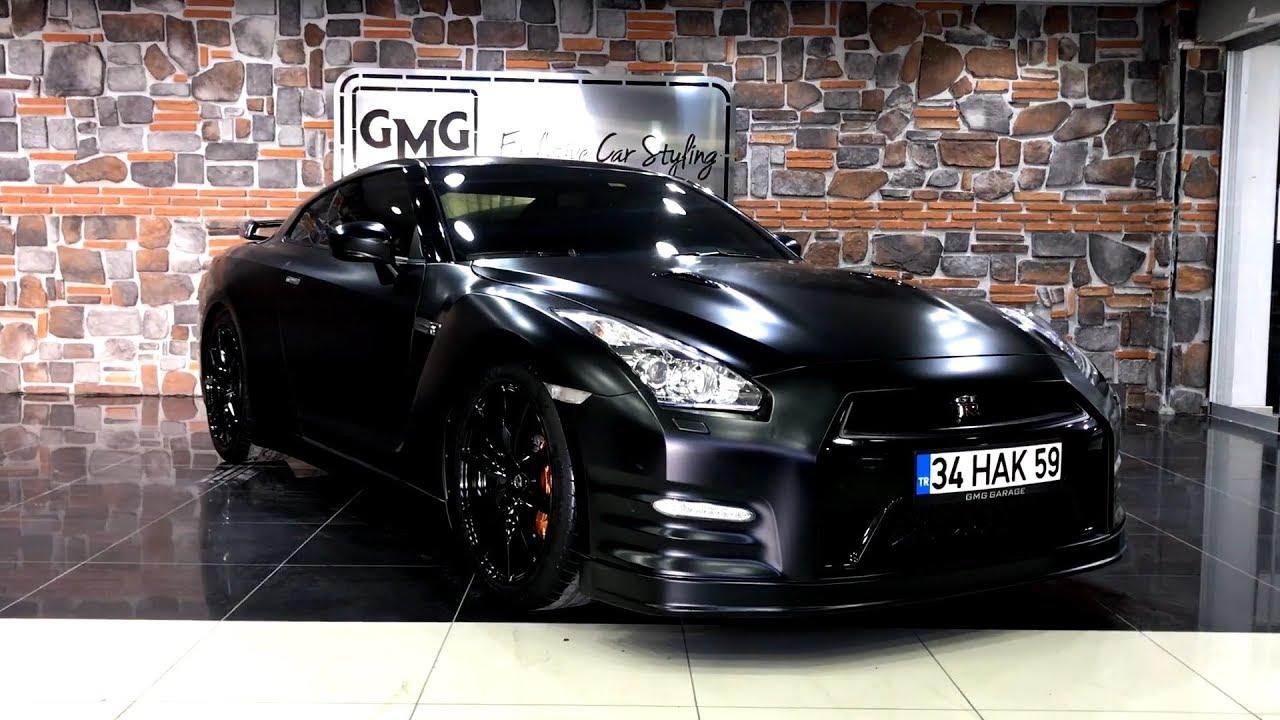 Nissan Gtr 2017 >> Nissan GTR Mat Satin Siyah VS. BMW i8 Mat Satin Flex Deep ...