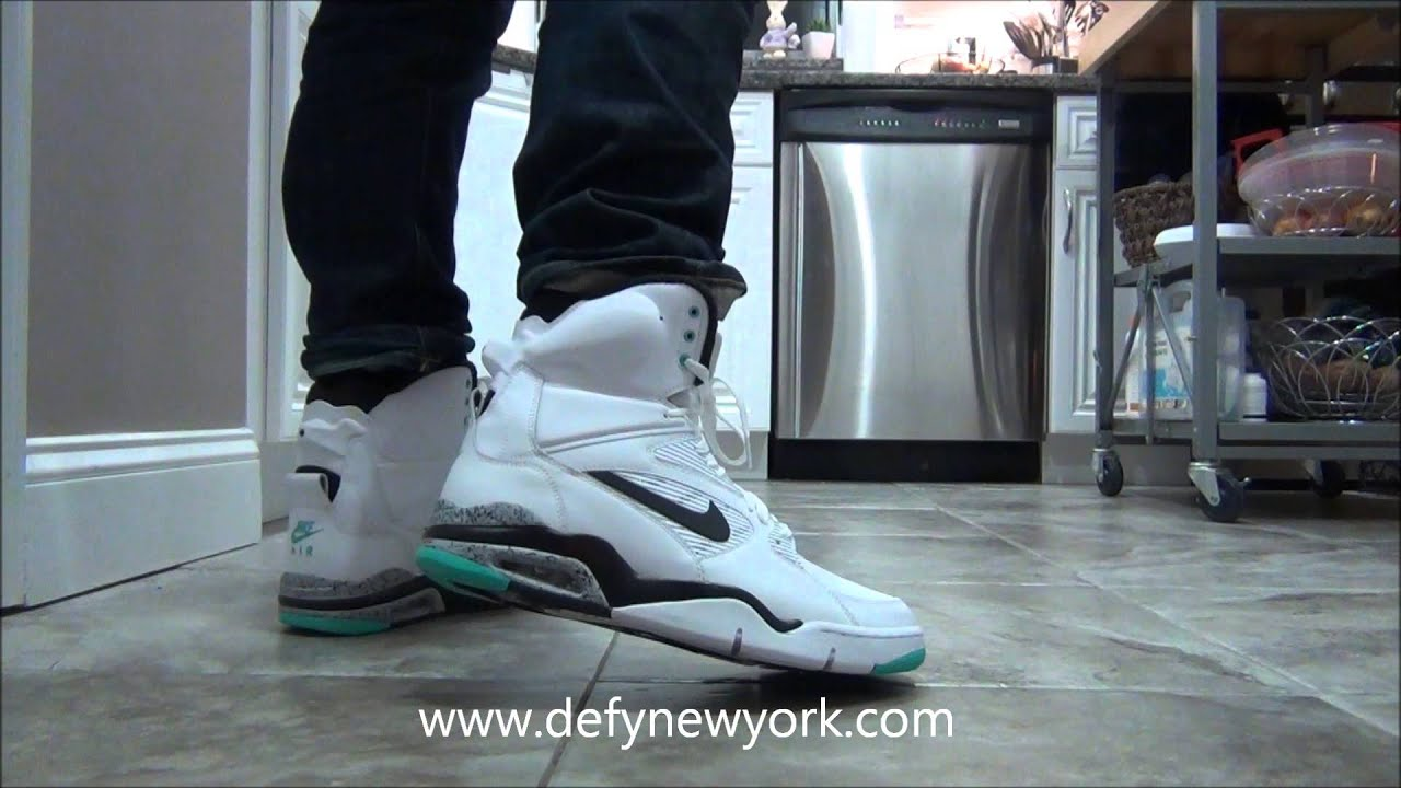 382b0443f99 LIVE! Nike Command Force Hyper Jade OG Retro On Feet Review - YouTube