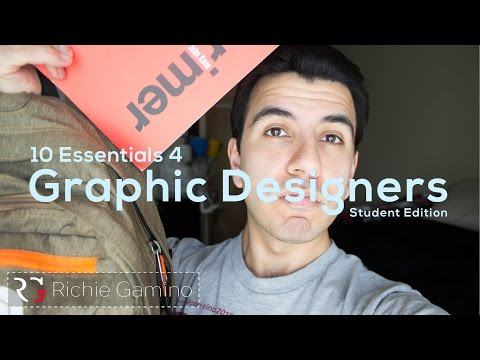 10 Things You MUST HAVE As A Graphic Designer | Life As A Graphic Designer
