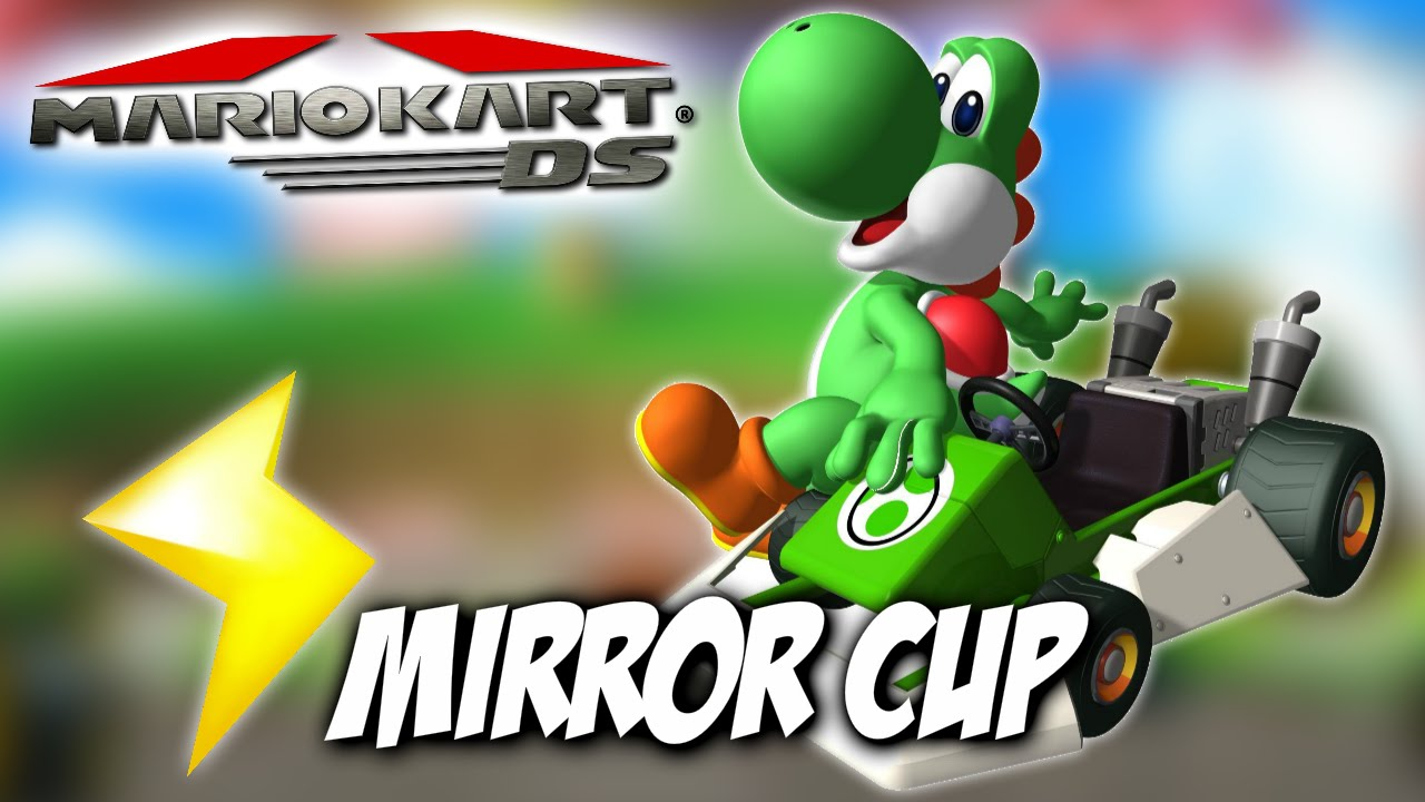 Let's Play | Mario Kart: DS - Mirror Mode Lightning Cup