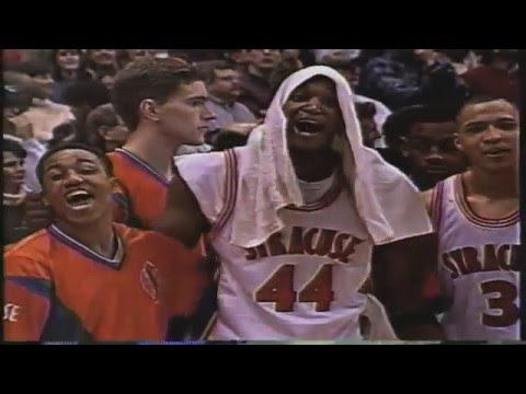 Syracuse Basketball 1996 Final Four Run