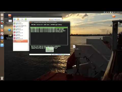 Virtualizing untangle in virtualbox