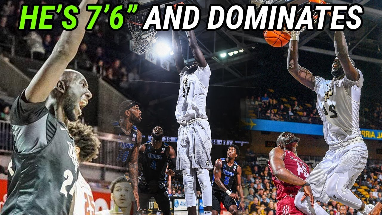 "7'6"" Tacko Fall Is DOMINATING College Basketball!"