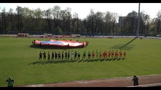 Urywek, doping, gole Znicz Pruszków - GKS Katowice 1:4 4.04.2017