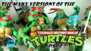 The Many Versions of the Teenage Mutant Ninja Turtles part 2