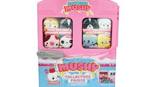 Smooshy Mushy Collector&#39s Fridge with Exclusive Harper Seal Limited Edition Unboxing Toy Review