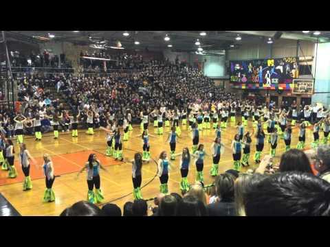 Pennsbury Sportsnite 2016 Disco dance