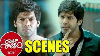 Raja Rani Movie Scenes - Regina Become Unconcious And John Helped To Regina - Aarya, Nayanthara