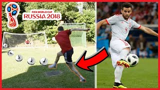 Perfectly recreating Nacho Volley Goal vs Portugal   Perfect World Cup recreations #1