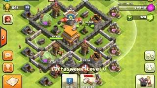 clash of clans rathaus level 5 basedesign