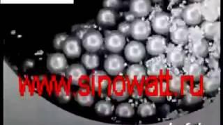шаровая мельница 3D, принцип работы шаровая мельница(, 2015-06-24T23:42:46.000Z)