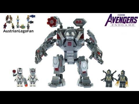 Lego Avengers Endgame 76124 War Machine Buster Speed Build