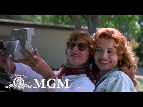 "Here's the original trailer for ""Thelma & Louise."""