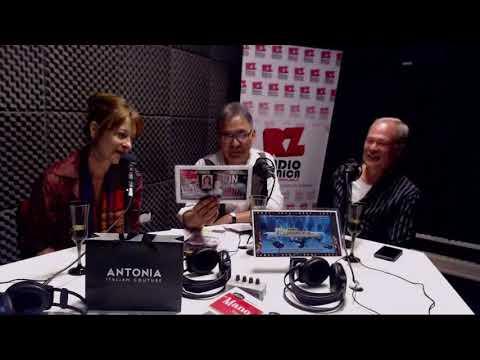 Con Gustavo Rey y Estela Garelli