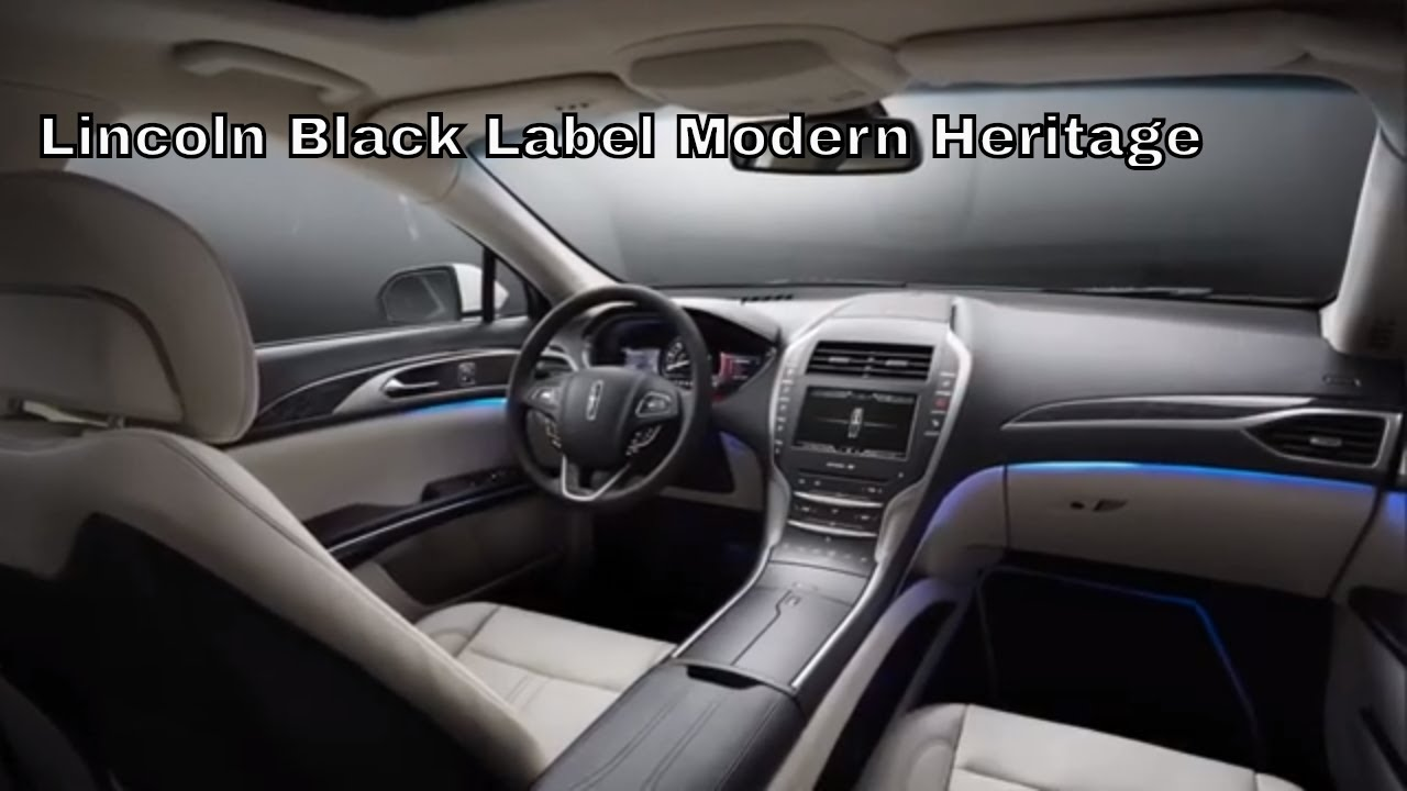 Lincoln Black Label >> Lincoln Black Label Themes Long Mcarthur Lincoln