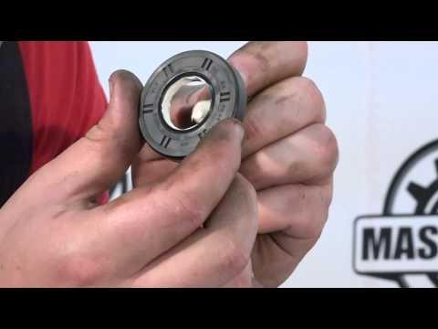 Cмотреть видео онлайн Смазка сальника для стиральных машин