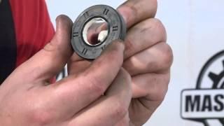 видео Как смазать подшипник в стиральной машине и чем