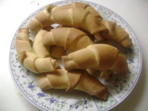 τυροπιτάκια κρουασαν / croissant with cheese
