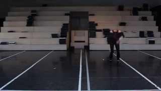 Wieczór Strawińskiego: Król Edyp/ Święto Wiosny - Shino Sakurado próbuje choreografię Paula Juliusa