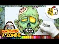 HOW TO DRAW A ZOMBIE | Halloween Cartoon Drawing | BLABLA ART