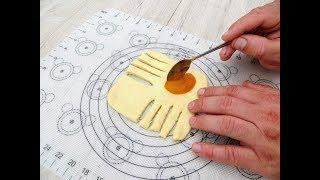 Сложно устоять когда на столе такие булочки  Невероятный способ лепки