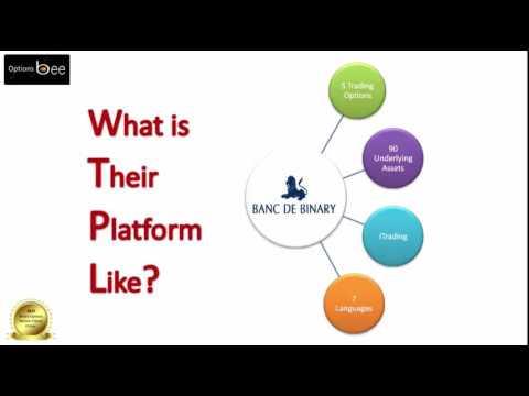 Banc De Binary Review & Trusted Broker