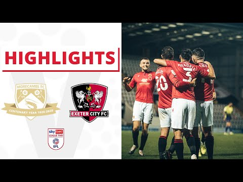 Morecambe Exeter City Goals And Highlights