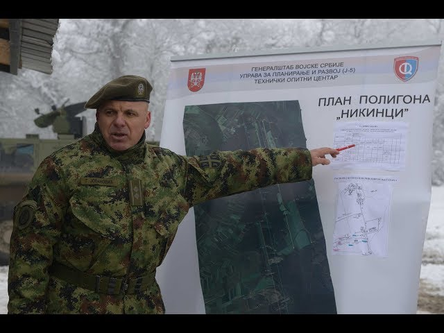 Potpukovnik Goran Jovanovi? o karakteristikama oklopnog vozila lazar 3